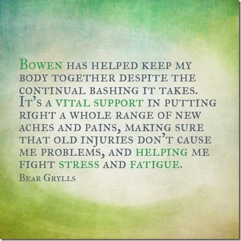 healing with bowen therapy